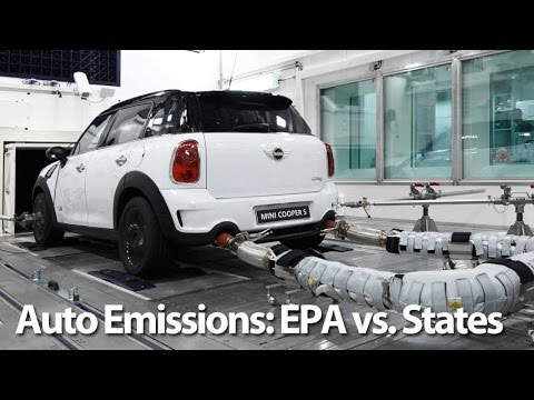 Automotive Emissions: EPA v States - Autoline This Week 1928