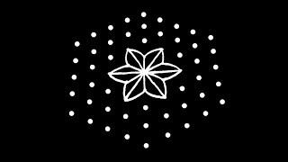 Easy Rangoli Design with 9X5 Dots | Kolam Designs | Muggulu Designs | Rangoli | Kolam | Muggulu