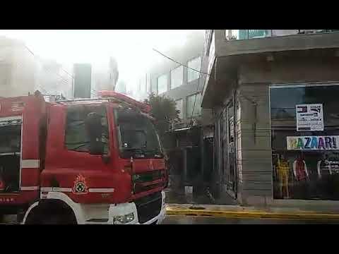 Φωτιά σε καφετέρια στο κέντρο των Χανίων (Ι)