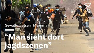 Gewaltexzesse in Myanmar