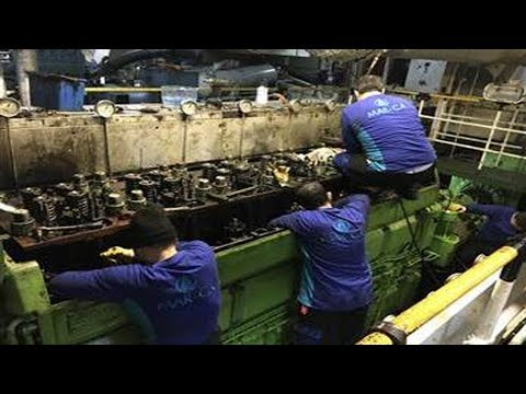 Marine Engine Maintenance and Repair