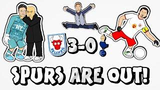 🕺🏻RB LEIPZIG FEEL GOOD!🕺🏻 RBL vs Spurs 3-0 (Champions League Parody Goals Highlights 4-0 2020)