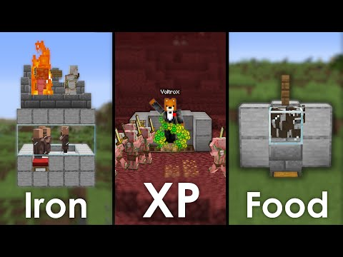 Minecraft: Top 3 MUST Have Beginner Farms For In Your Survival World
