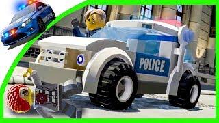 ПОЛИЦЕЙСКИЙ УЧАСТОК в Мультик Игре LEGO City Undercover 1-серия