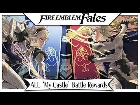 Fire Emblem Fates - Full 'My Castle' Battle Rewards List! [Tips & Tricks]
