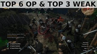 Witcher 3 - Top 6 OP things and Top 3 weak things