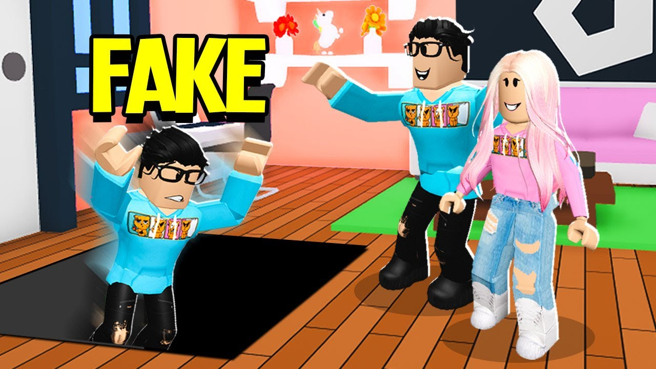 He Pretended To Be My Boyfriend.. So We TRAPPED Him In Adopt Me! (Roblox)