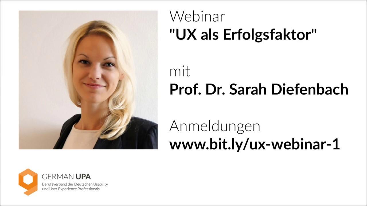 German Upa Webinar Ux Als Erfolgsfaktor Testbirds