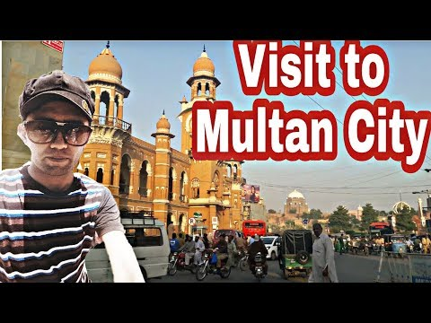 VISIT TO MULTAN CITY - VLog#19 | Ahmed Raza VLogs