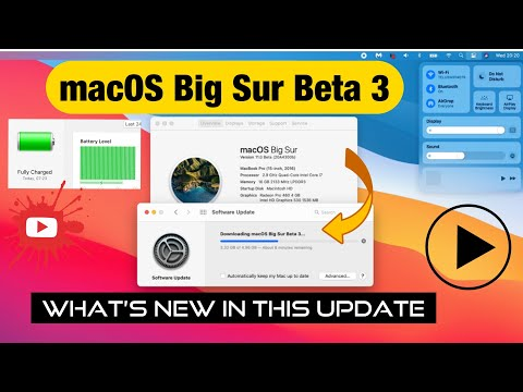 Macos Big Sur Beta 3 Update Everthing You Need To Know Youtube