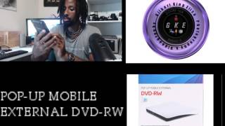 UNBOXING POP-UP MOBILE EXTERNAL DVD-RW (JOKDEER)