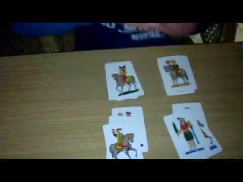 Gioco con carte napoletane