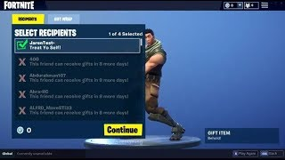 FORTNITE OFFER SKINS to AMIS