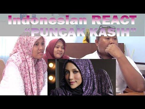 Indonesian React | Puncak Kasih | ZIANA ZAIN | Tsurayya React