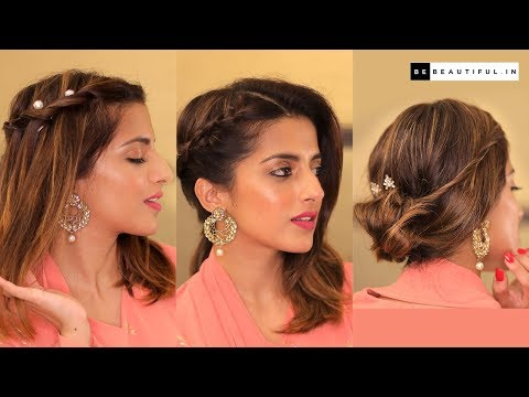 Easy Traditional Hairstyles For Short/Medium/Long Hair | Hairstyle By Knot Me Pretty | Be Beautiful