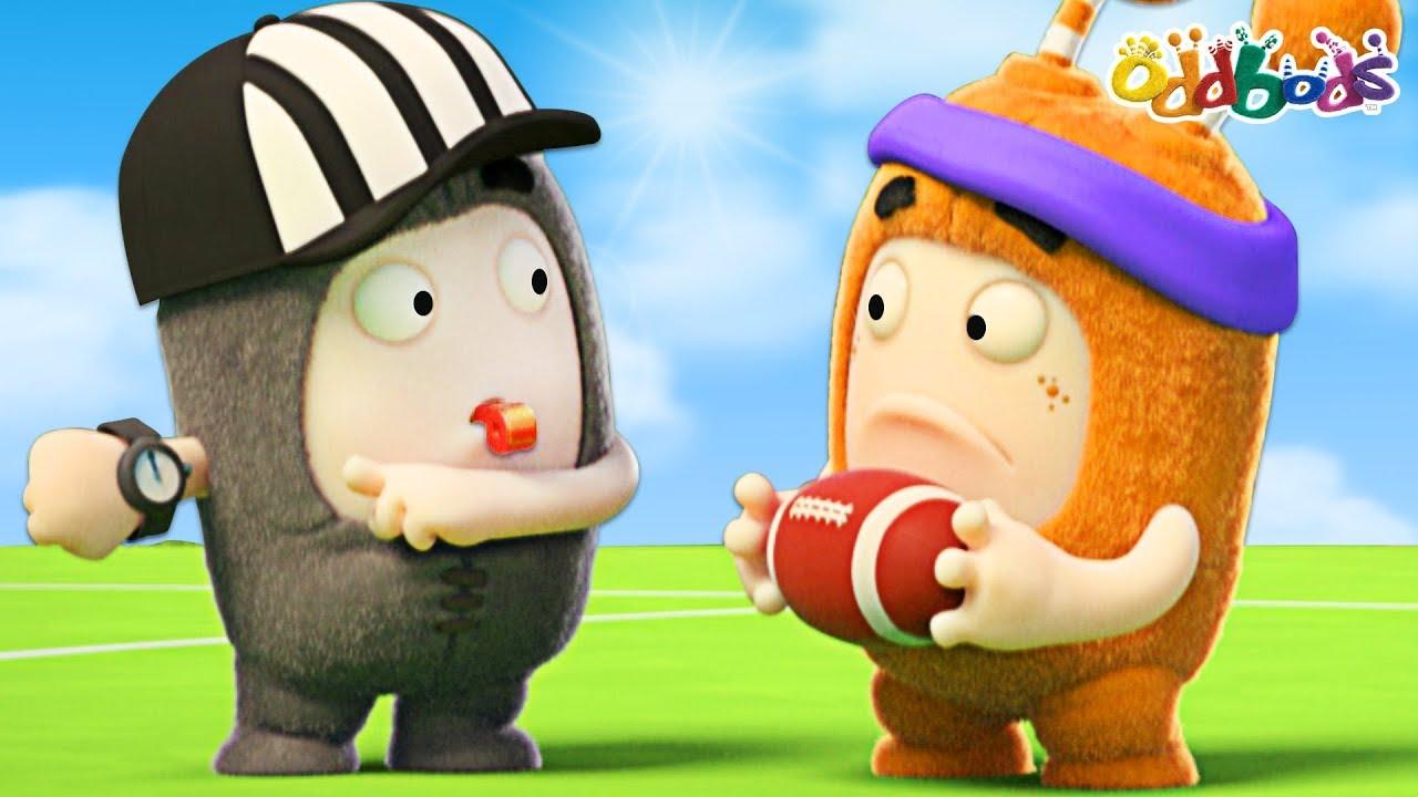 Oddbods Football Frenzy Funny Cartoons For Children Youtube
