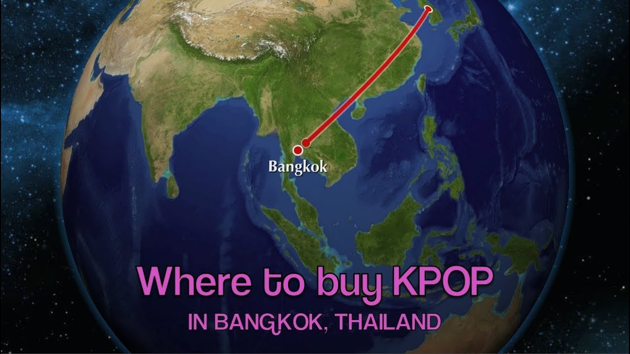 Where to buy KPOP in Bangkok Thailand  YouTube