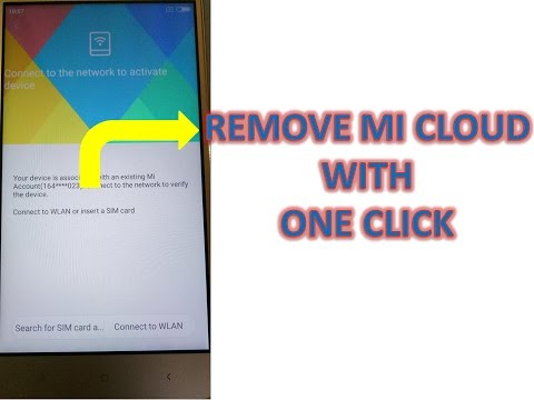 Remove Mi Cloud with one click