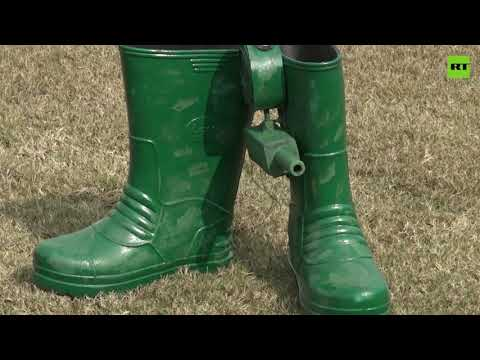 Guns for shoes | Indian inventor creates 'firearm-boots' for soldiers