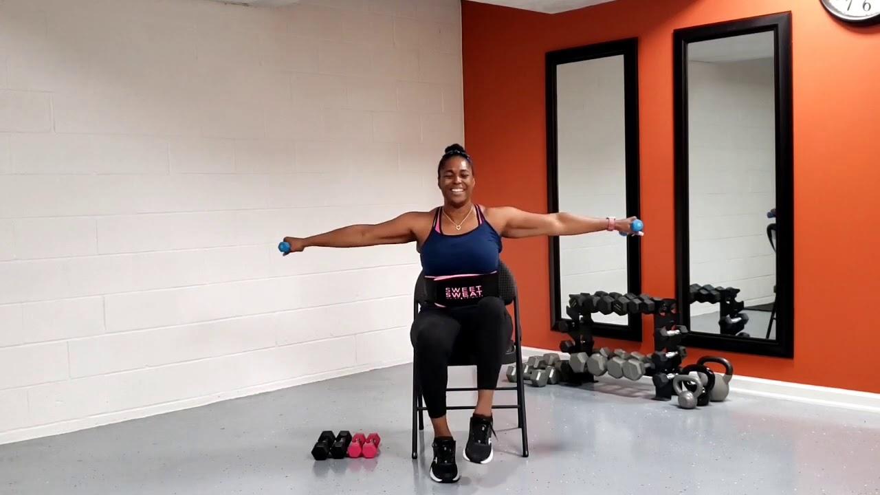 Chair dance Arm Workout