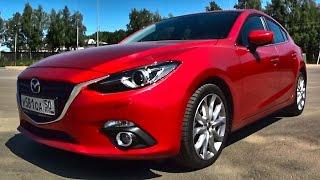 За что любят Mazda 3?! Тест драйв Мазда 3 2.0 Автомат на ходу
