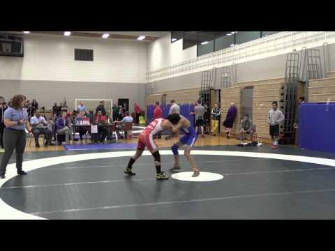 2014 Huskie Open: 54 kg Ian Leynes vs. Aidan Peatsh