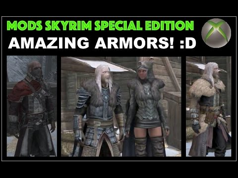 Skyrim Special Edition Armor Mods Xbox One - The Most Amazing Armors so  far! :D