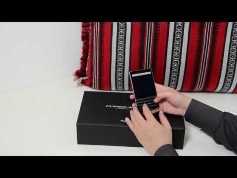BlackBerry Porsche Design P'9983 - specifications, reviews