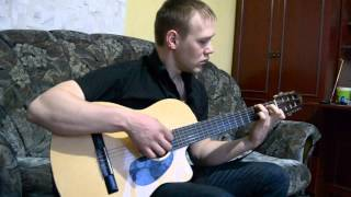 "The guy played the melody from ""Titanic"". It's wonderful. Титаник на гитаре."