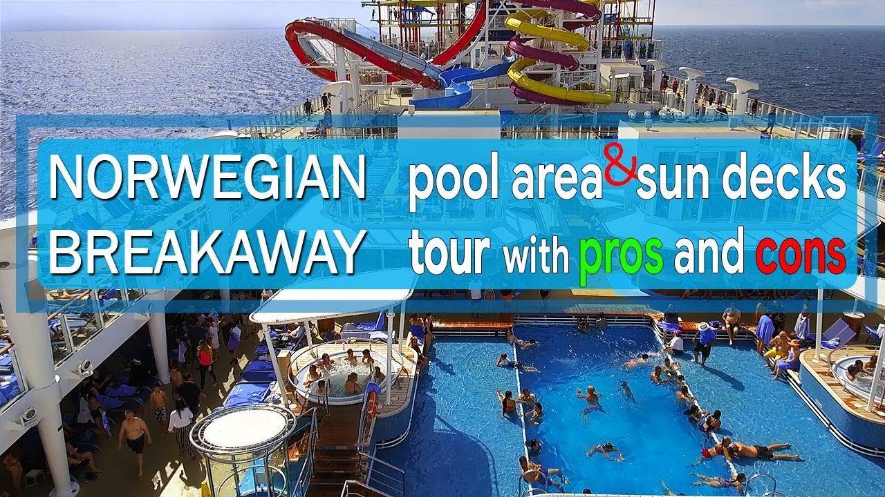 Norwegian Breakaway Refurb Pros Cons Entire Pool Area And