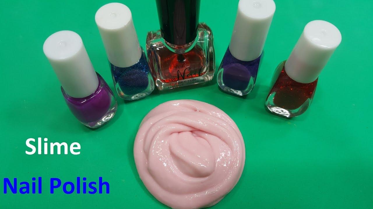 diy slime nail polish