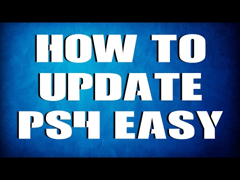 How to UPDATE PS4 Latest Version System Software Update Tutorial