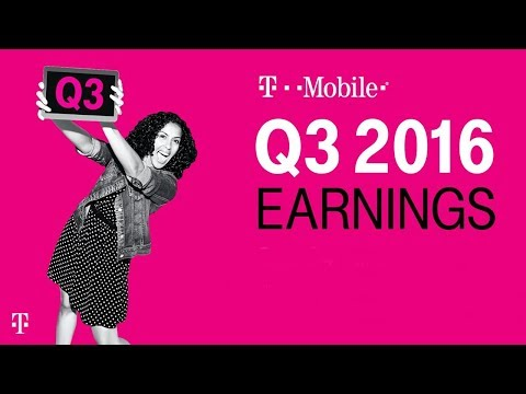 T-Mobile Q3 2016 Earnings Call: Behind-the-Scenes Livestream