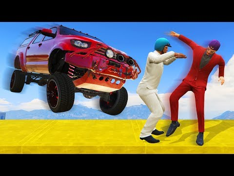 HE SAVED MY LIFE! (GTA 5 Funny Moments)