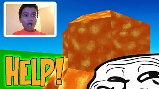 TROLLING A YOUTUBER WHILE HE'S STREAMING! (Minecraft Trolling)