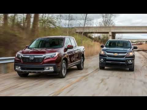 AWESOME!!!  2017 Chevrolet Colorado LT Crew Cab 4WD vs  2017 Honda Ridgeline RTL E AWD  REVIEW