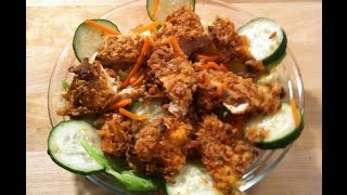 French Fried Onion Chicken
