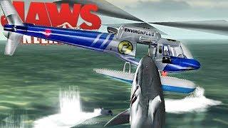Jaws Unleashed - Perigo Das Profundezas, Atacando Helicóptero! | (#5) (PT-BR) Jogos De Tubarão