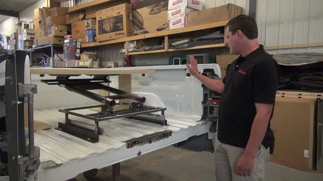 Storm Truck Project Episode 9 - TV Lifting System - YouTube