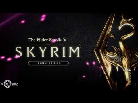 Skyrim: Special Edition - My Custom Animated Main Menu