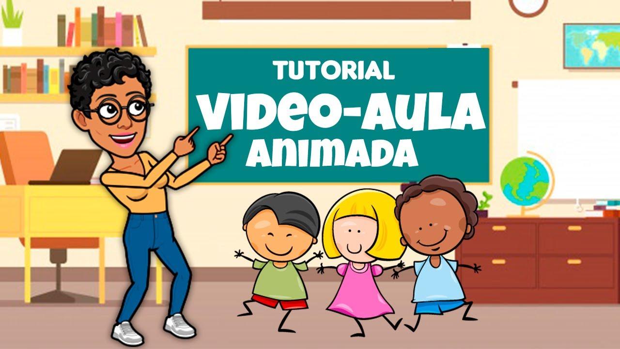 Como Fazer VIDEOAULAS Com Vídeos Animados - [AULA COMPLETA]