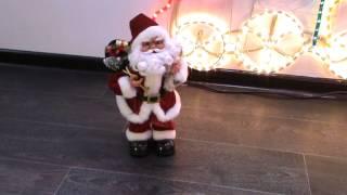 Дед Мороз танцующий 38см с музыкой   Купить в Алматы