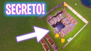 THE NEW SECRET ENTRY! Fortnite Battle Royale - Luzu