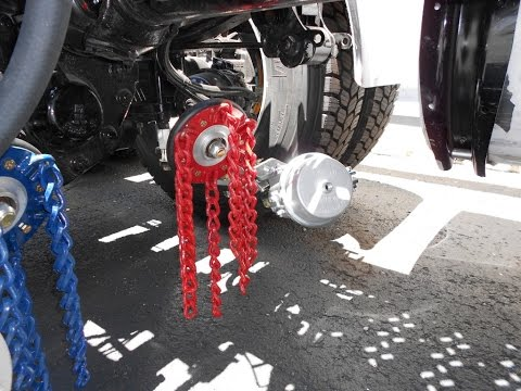 Snow Chains For Tires >> Insta Chain | Automatic Snow Chains for Trucks - YouTube