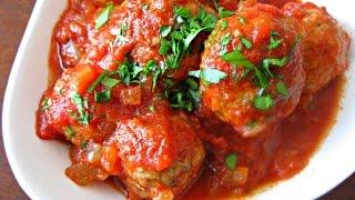 Домашние видео-рецепты - тефтели с томатным соусом в мультиварке
