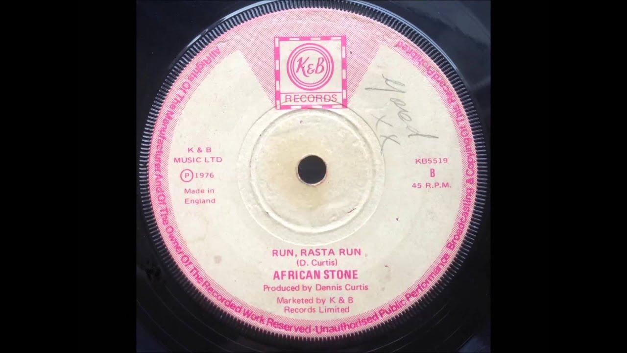 African Stone Run Rasta Run