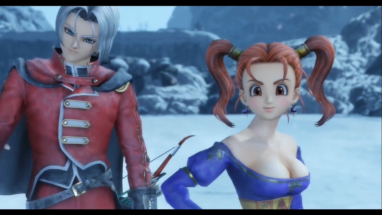 Dragon Quest Heroes Ii Heroes Part Vi Jessica Angelo Ps4 Youtube