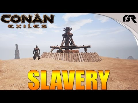 Conan Exiles Greek Part 10 - ΣΚΛΑΒΟΙ/SLAVES CITY OF MITRA