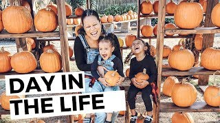 VLOG: A DAY IN THE LIFE WITH TODDLERS, FALL 2019, VLOGTOBER | THE DUNSTONS