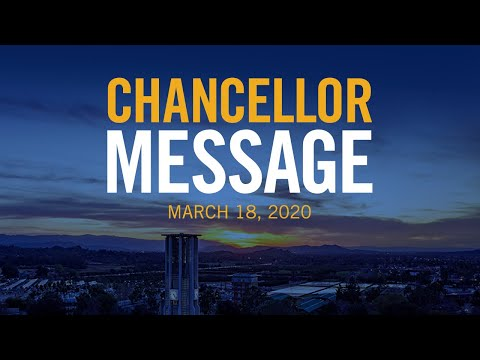 Chancellor Wilcox Address UCR Employees